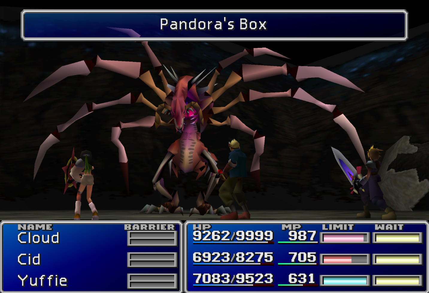 Pandoras Box Enemy Skill