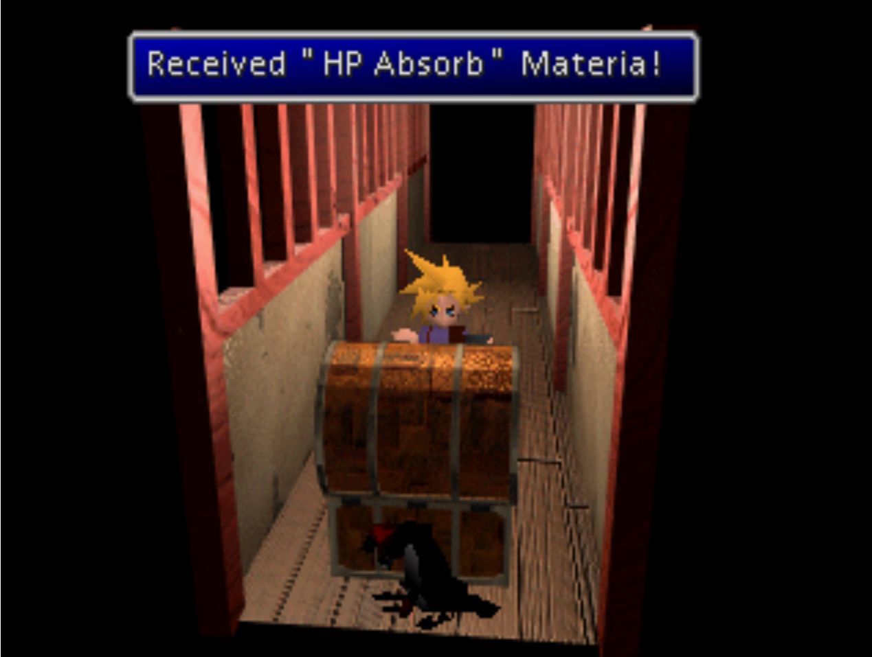 Hp Absorb Materia Acquired