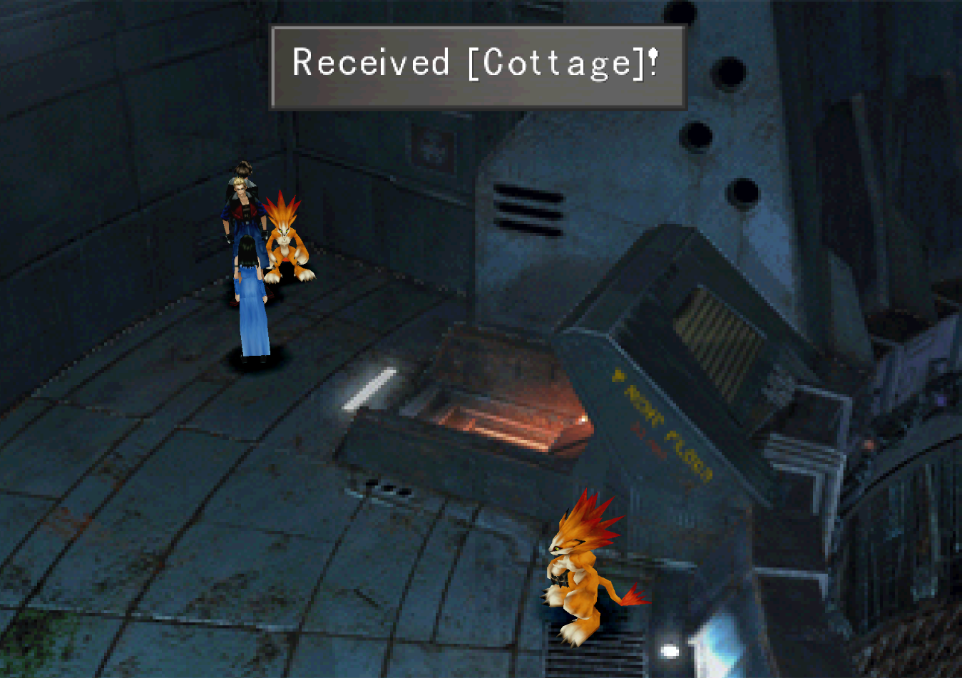 FF8 Cottage Received