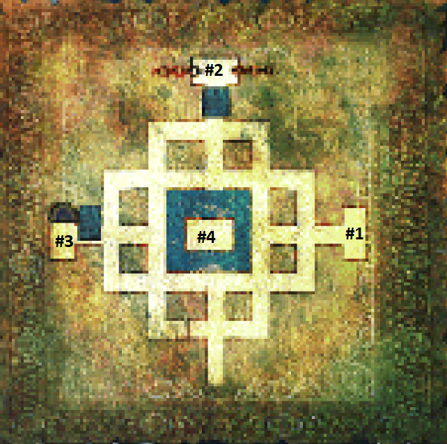 Tomb of the unknown king map