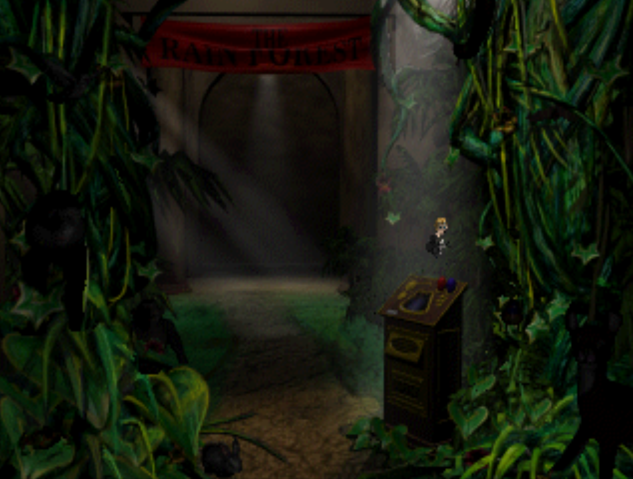 Secret room in Nature room