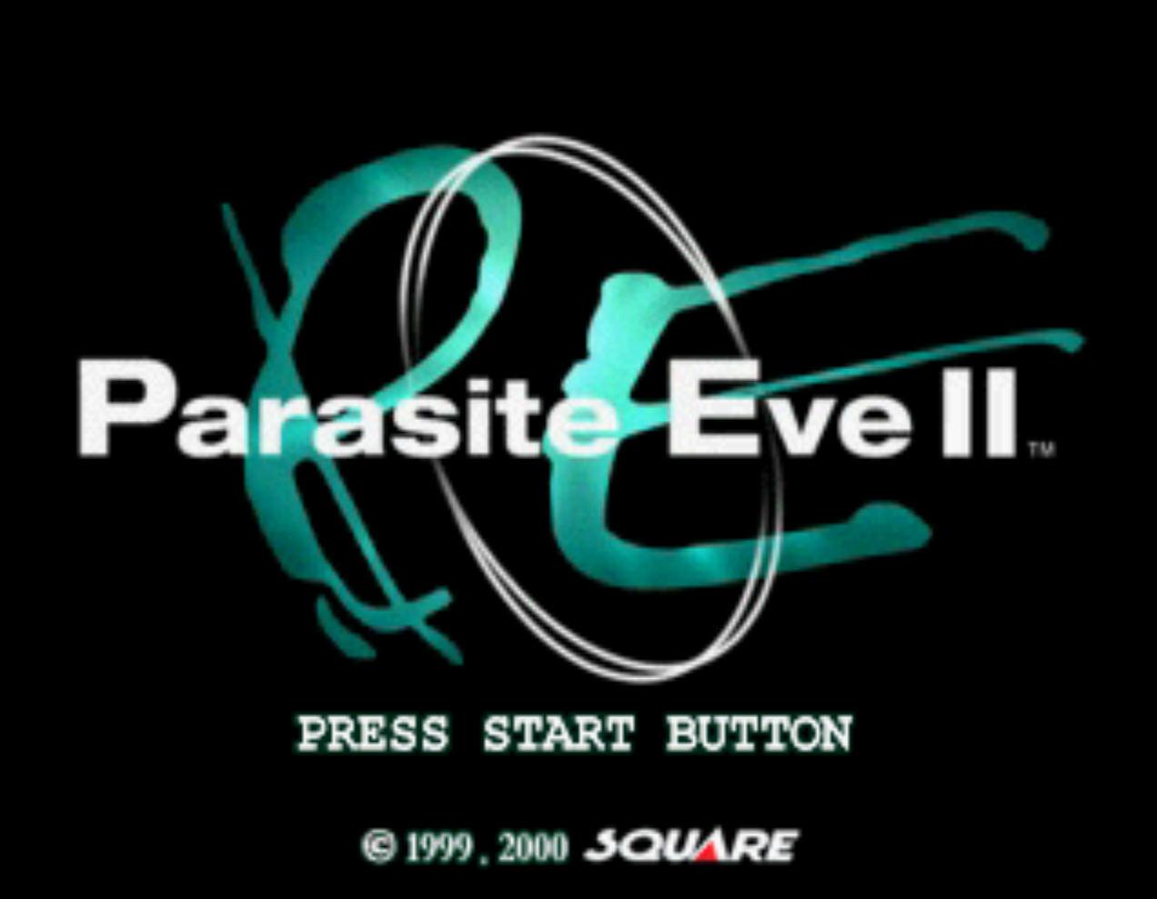 Parasite Eve II Title Screen