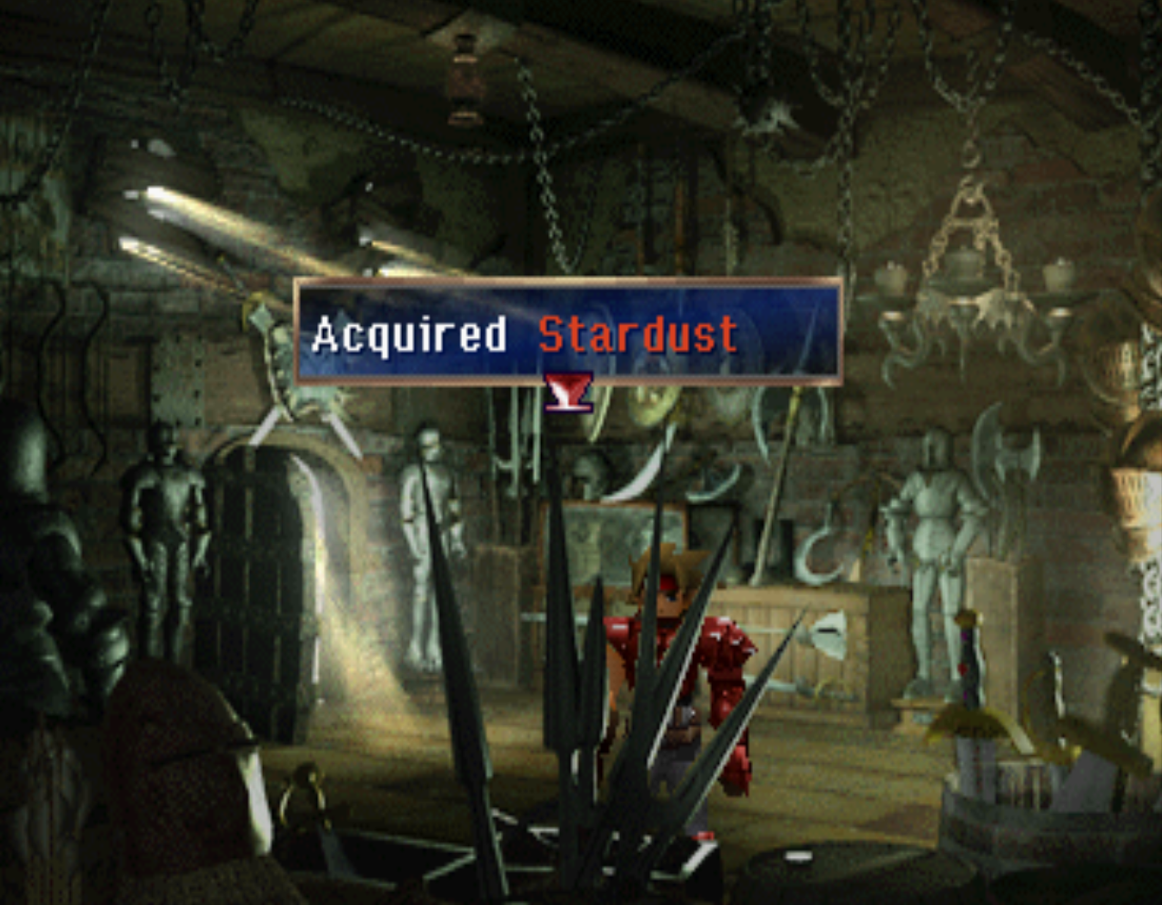 Stardust in Bale Weapon Shop