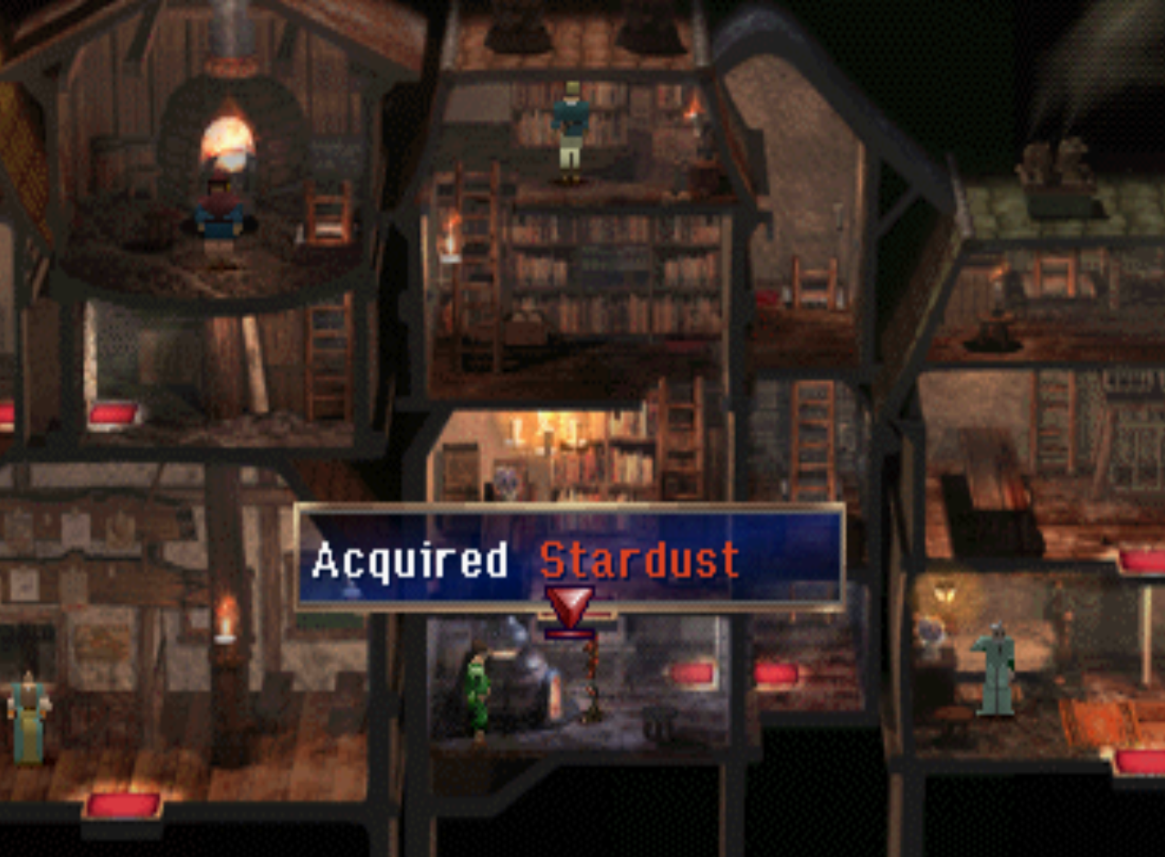 Stardust in Lohan Fireplace in multi-tiered building