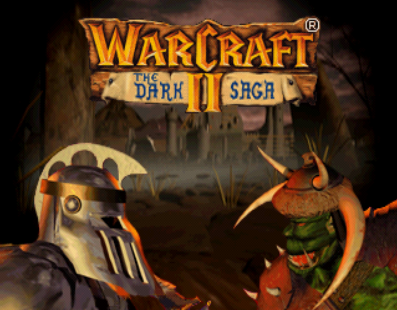 Warcraft II Title Screen