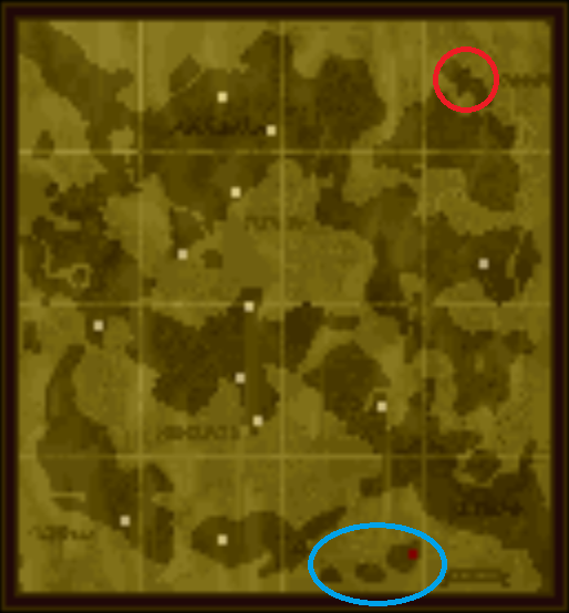 Best Location to grind map location