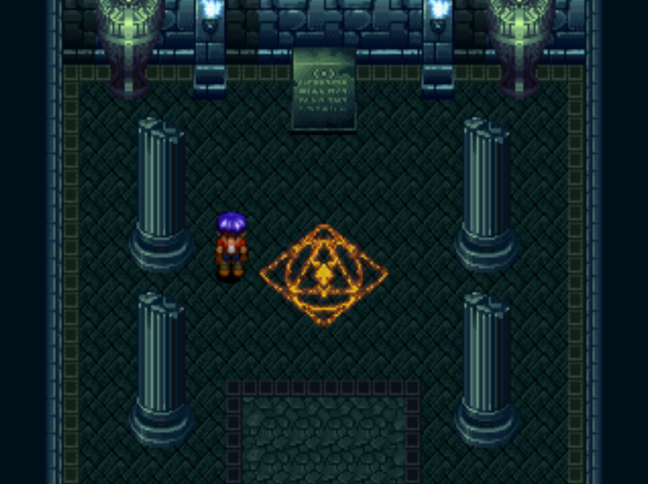 The Abyss Entrance Room