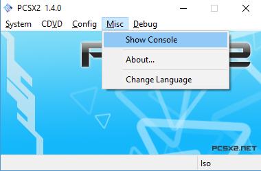 pcsx2 not loading iso