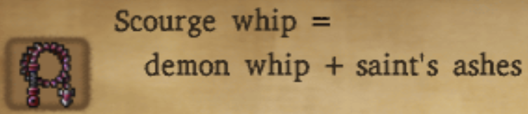 Scourge Whip Alchemy Recipe