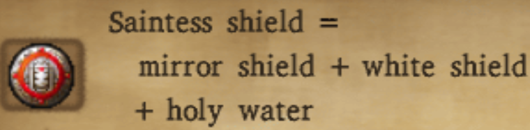Saintess Shield Alchemy Recipe