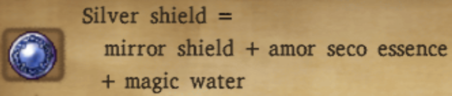 Silver Shield Alchemy Recipe
