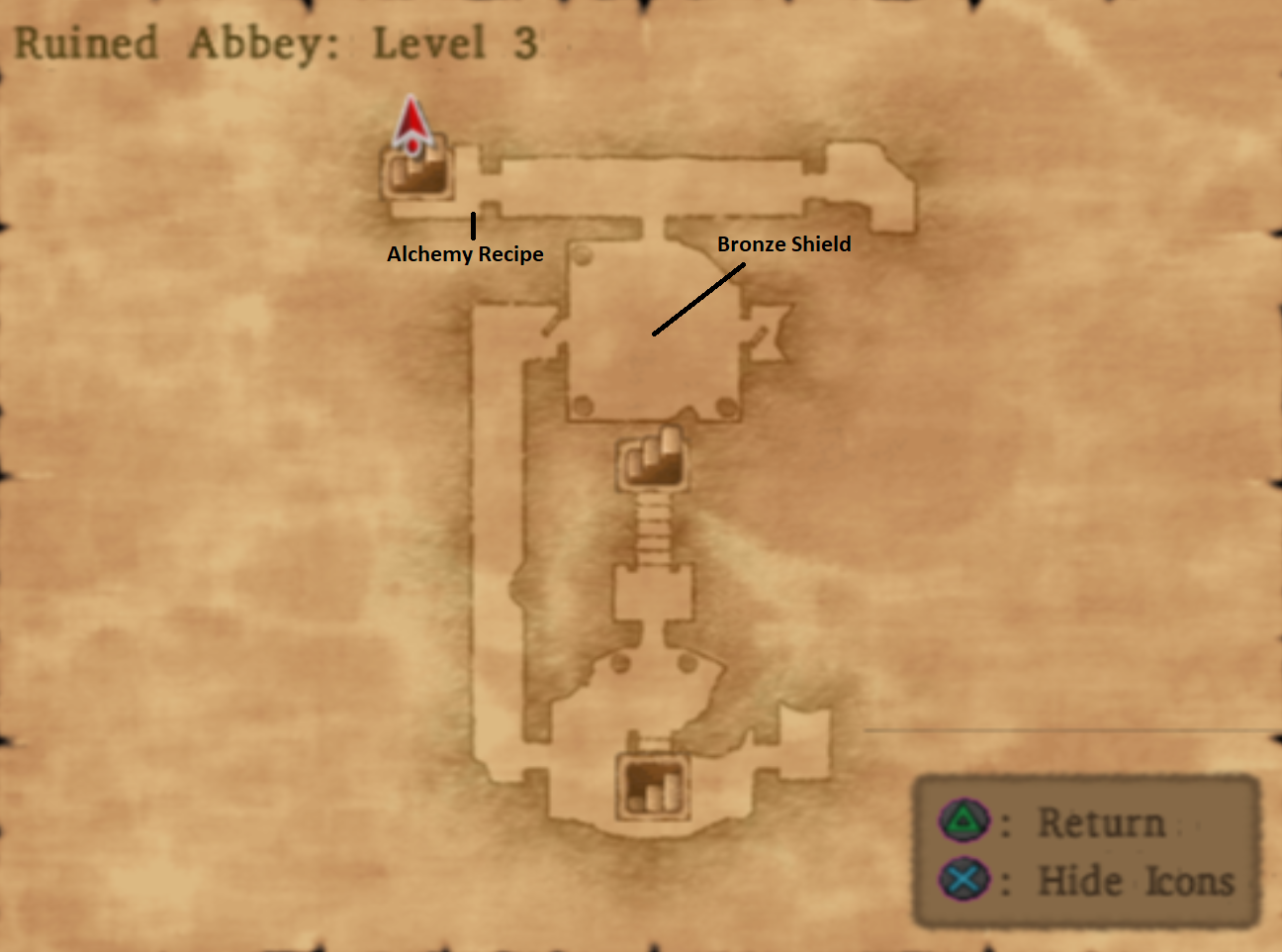 Ruined Abbey Level 3