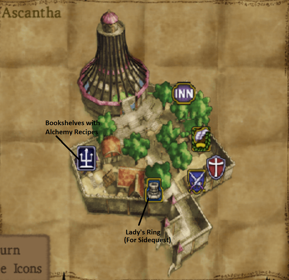 Map of Ascantha