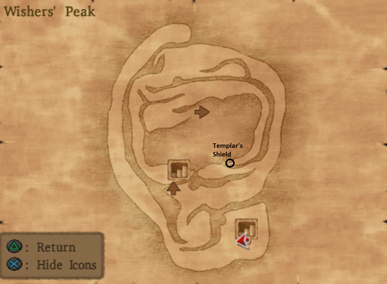 Wishers Peak Dungeon Outside Portion