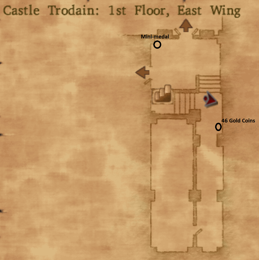Castle Trodain East Wing 1st Floor