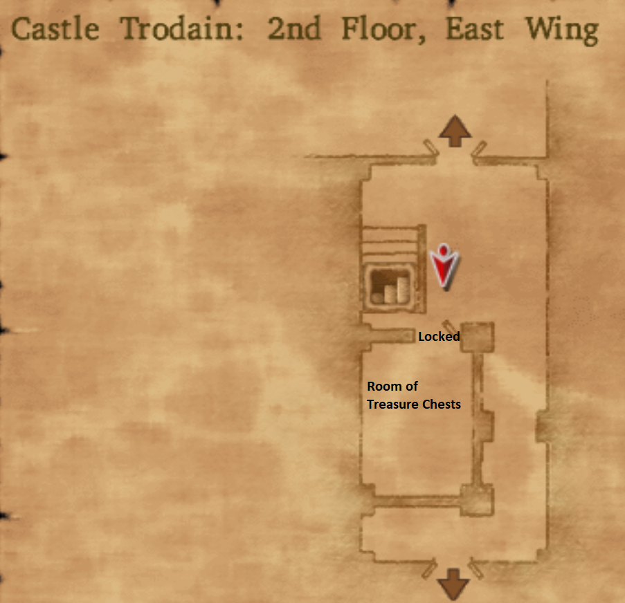 Castle Trodain East Wing 2nd Floor