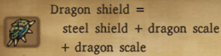 Dragon Shield Alchemy Recipe