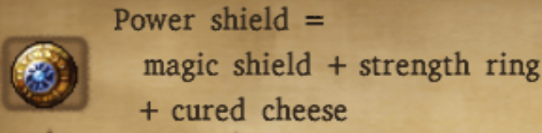 Power Shield Alchemy Recipe