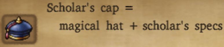 Scholar's Cap Alchemy Recipe
