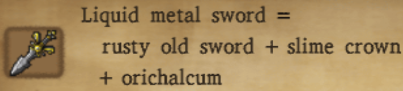 Liquid Metal Sword