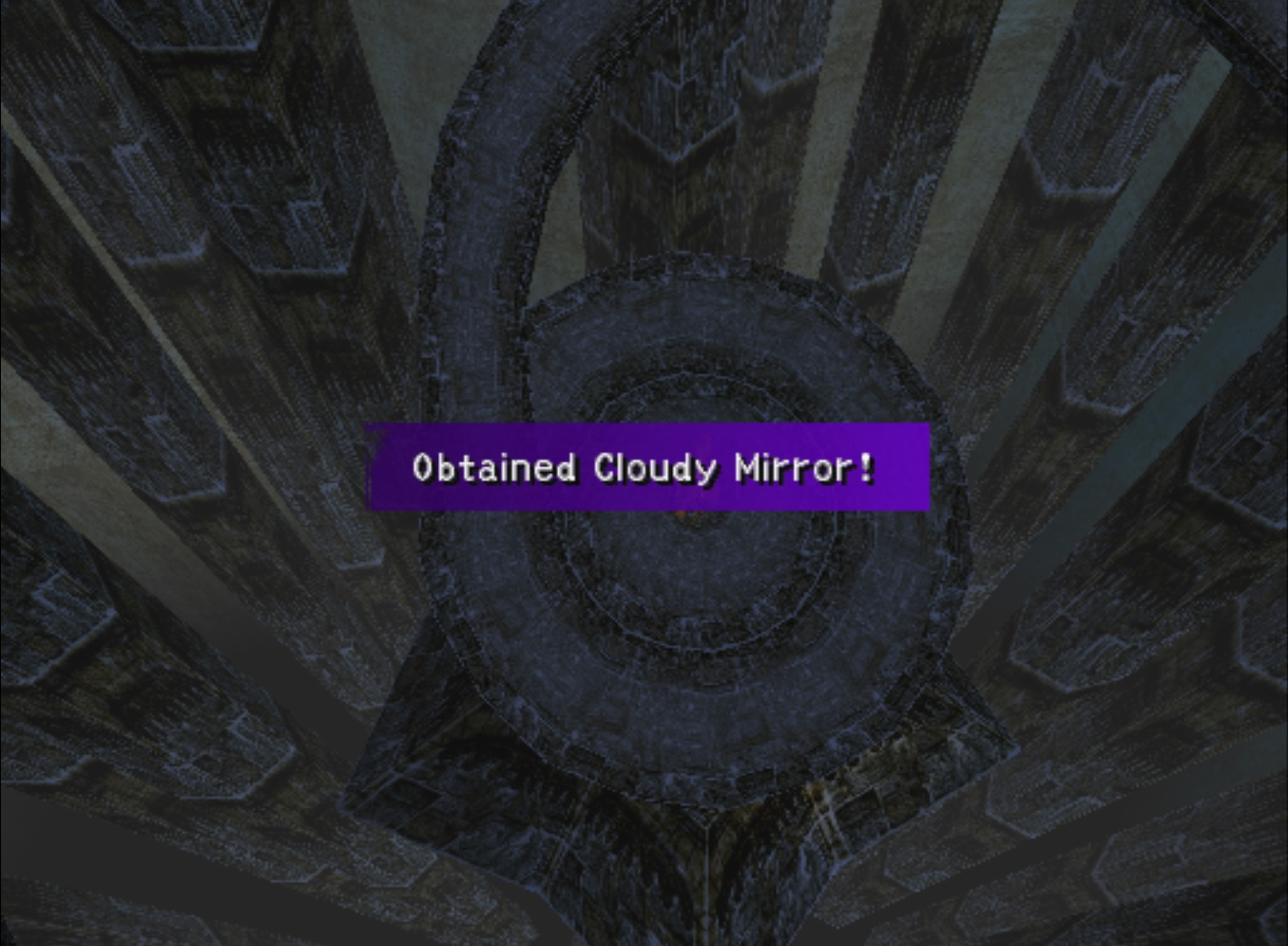 Cloudy Mirror Obtained