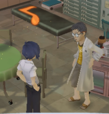 Persona 3 Doctor Courage