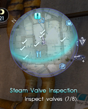 Steam Valve Inspection Map Locations