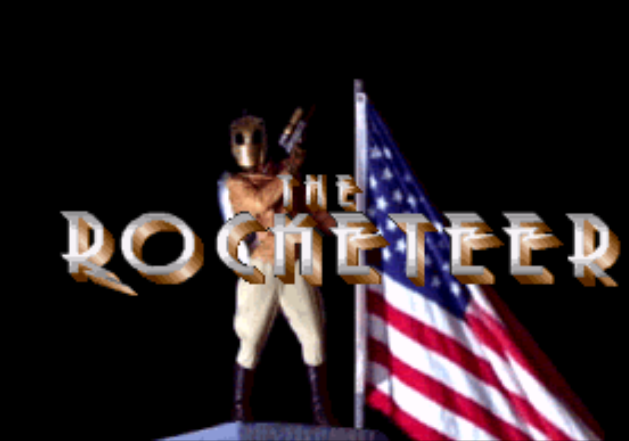 The Rocketeer Title Screen
