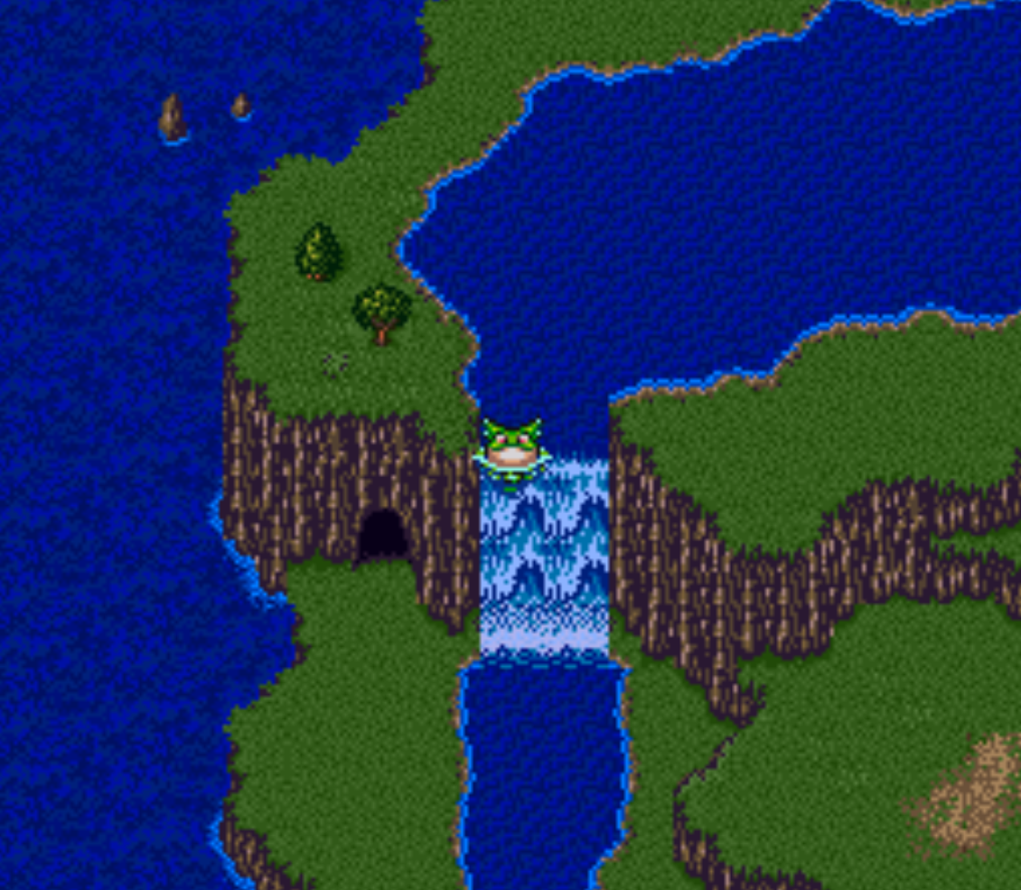 Waterfall Secret Cave with Dragon Powers