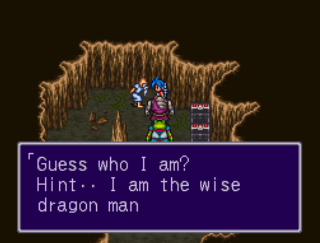 Wise Dragon Man Breath of Fire 2