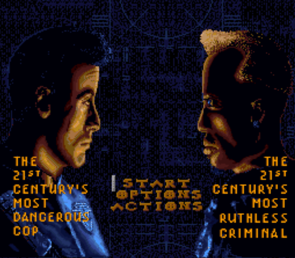 Demolition Man Title Screen
