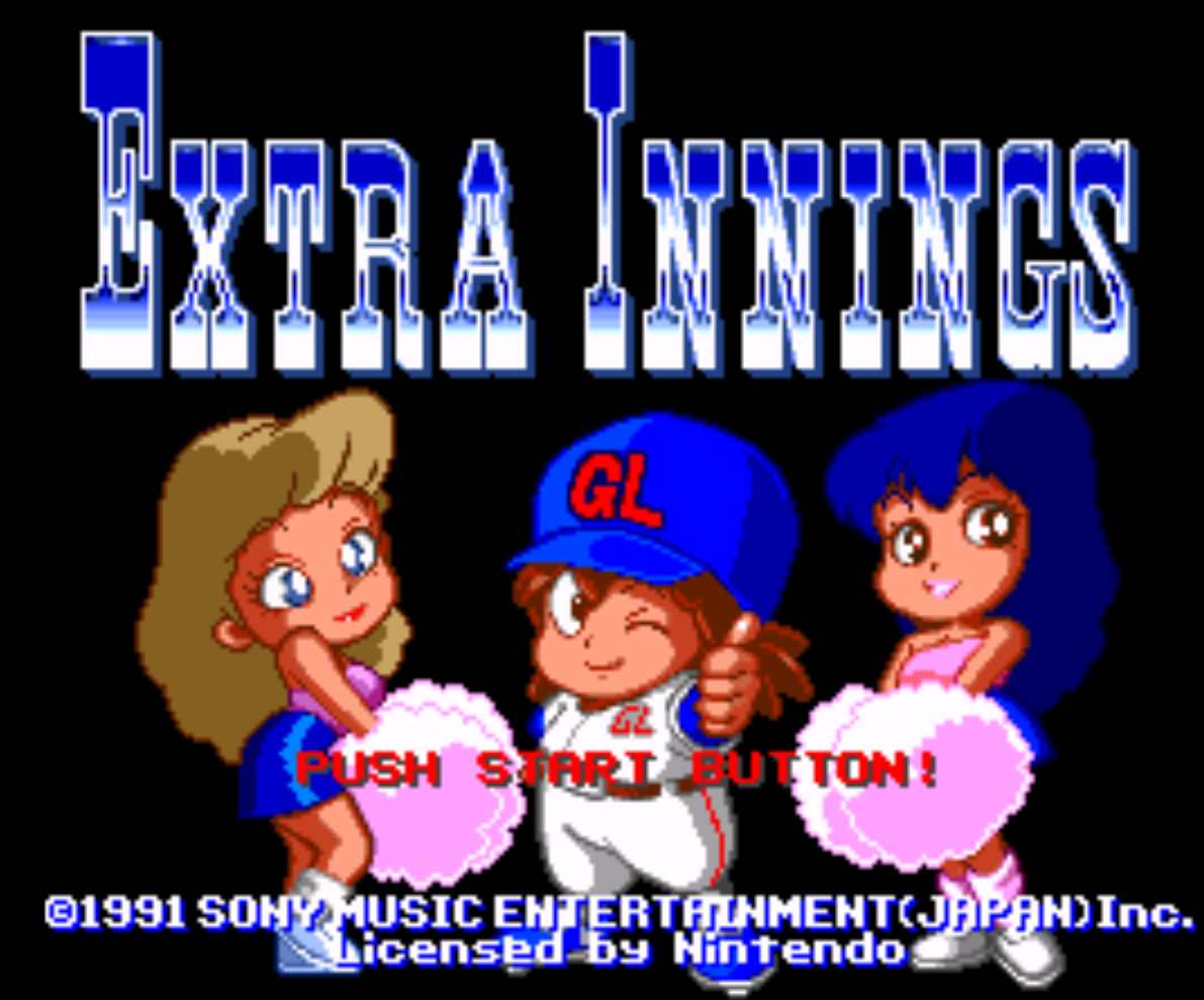 Extra Innings Title Screen