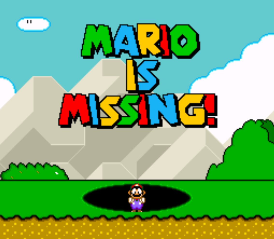 Mario is missing put cheats
