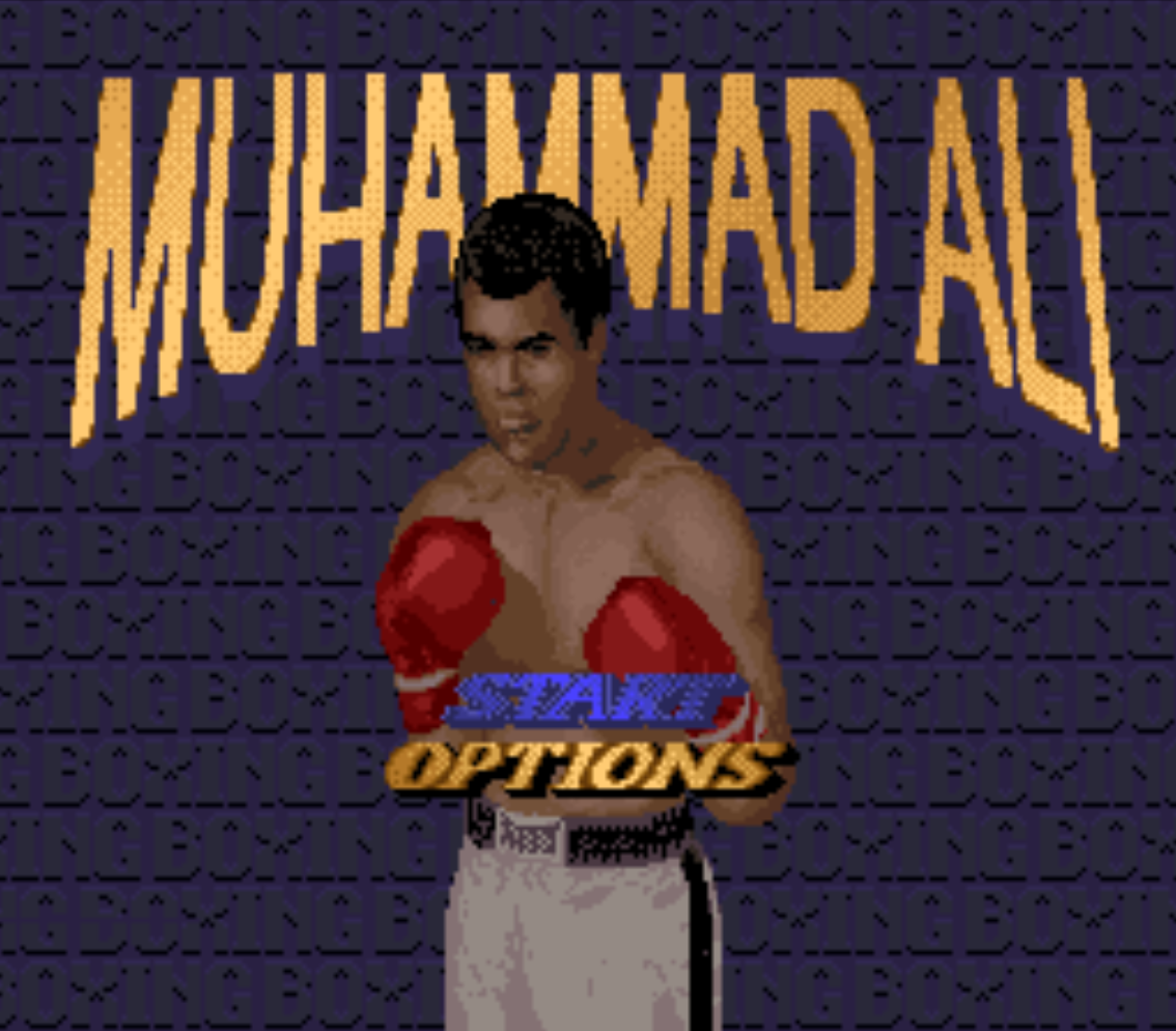 Muhammad Ali Heavy Weight Boxing Title Screen