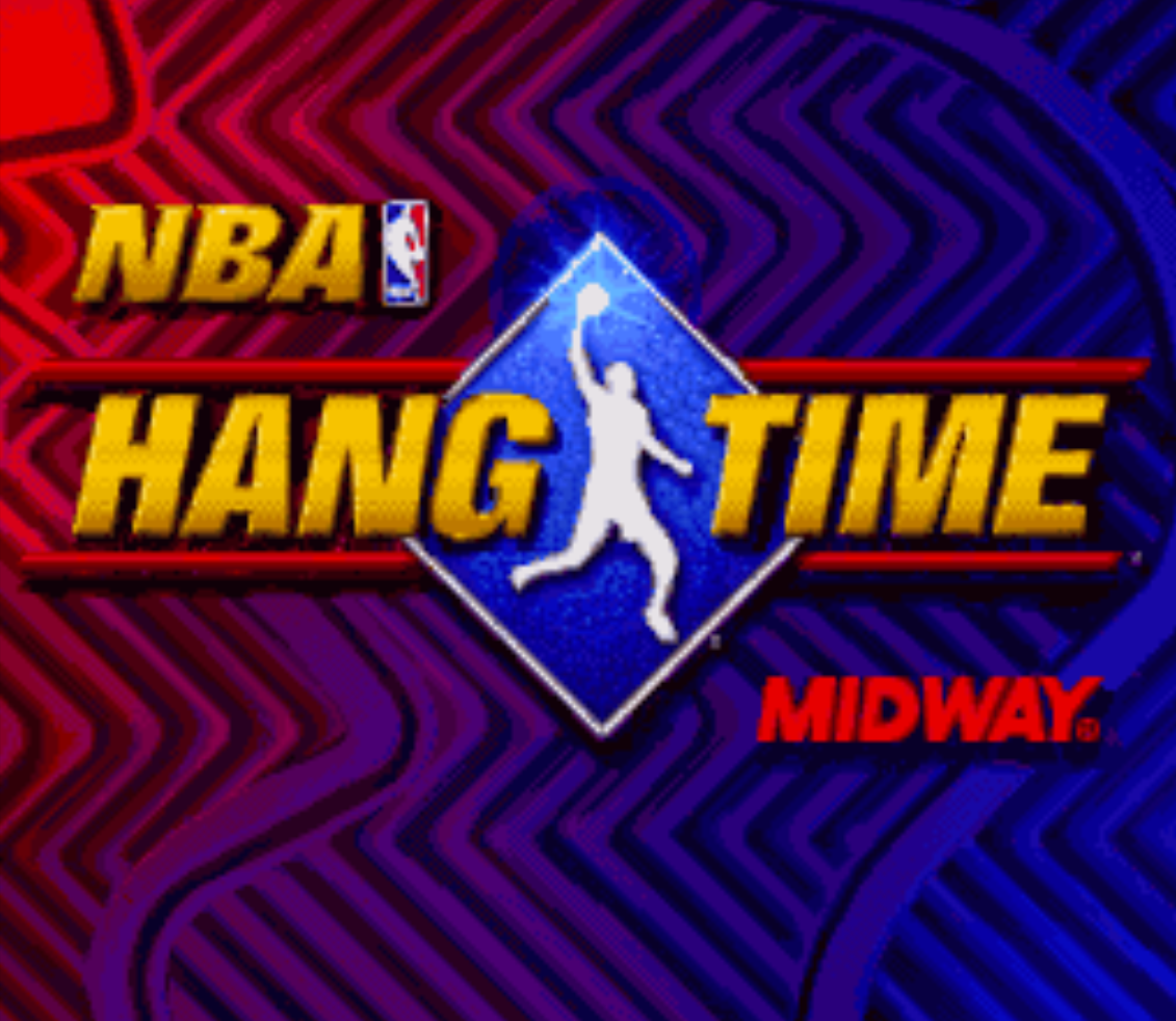 NBA Hang Time Title Screen