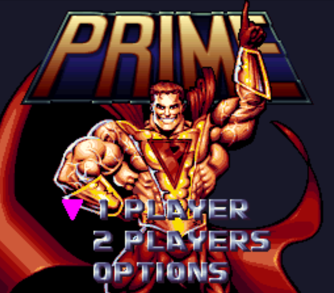 Prime Title Screen