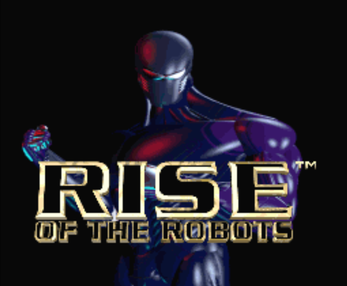 Rise of the Robots Title Screen