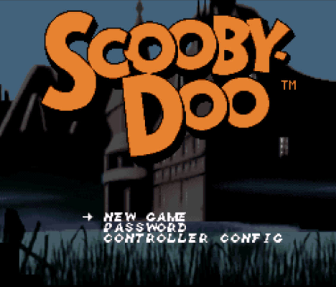Scooby Doo Mysteries Title Screen
