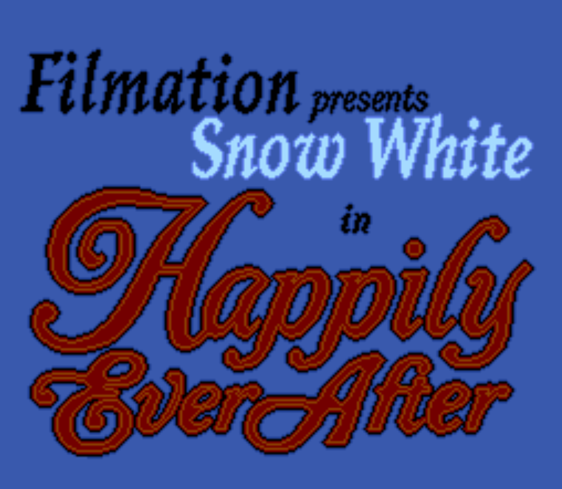 Snow White in Happily Ever After Title Screen