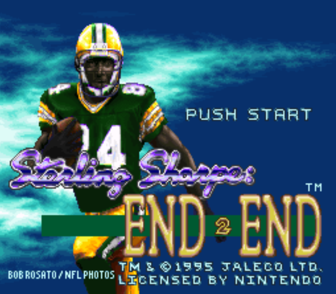 Sterling Sharpe Title Screen