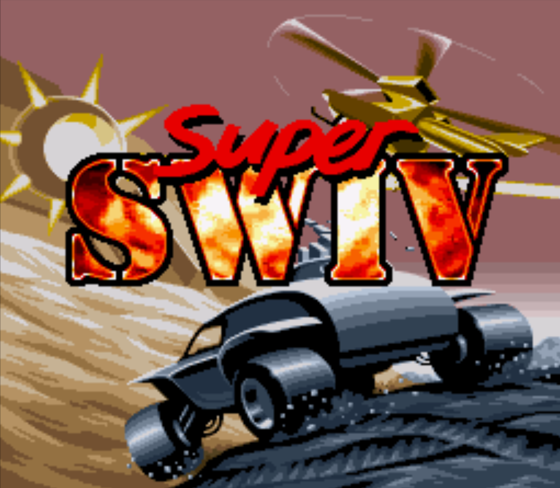 Super SWIV Title Screen