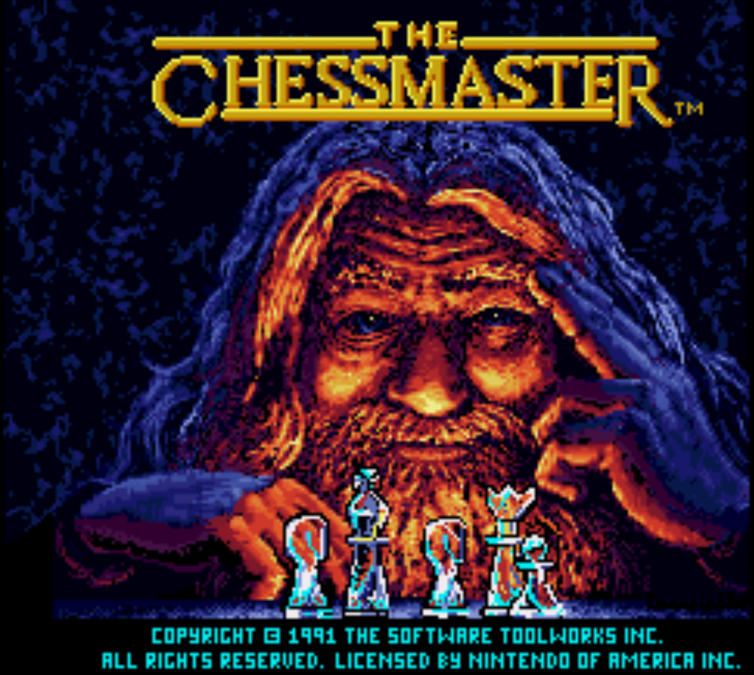 The Chessmaster Title Screen