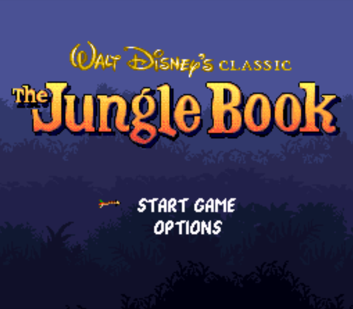 The Jungle Book Title Screen
