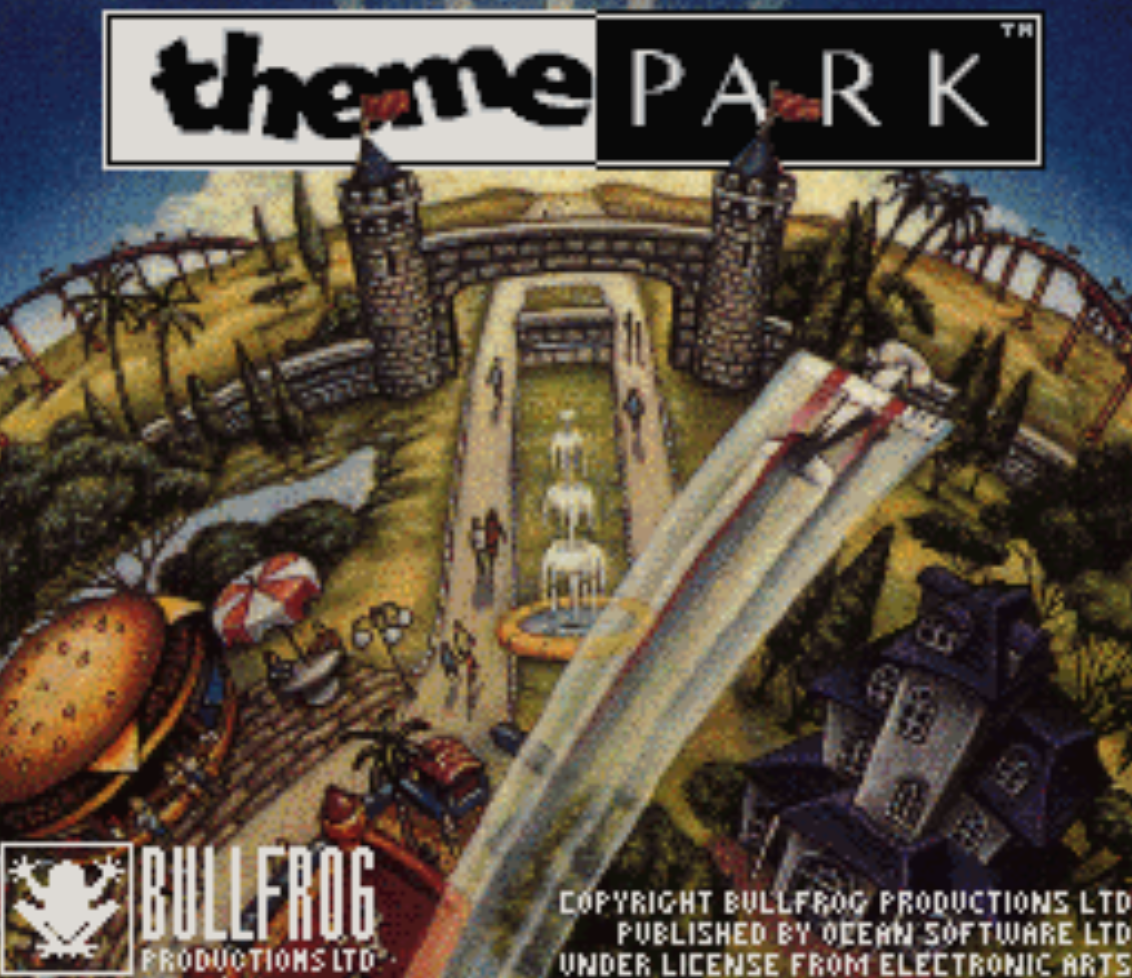 Theme Park Title Screen