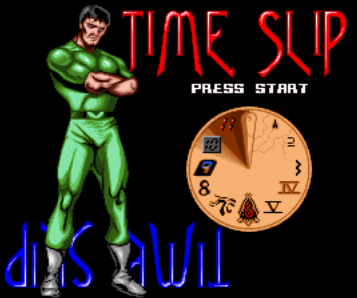 Time Slip Title Screen