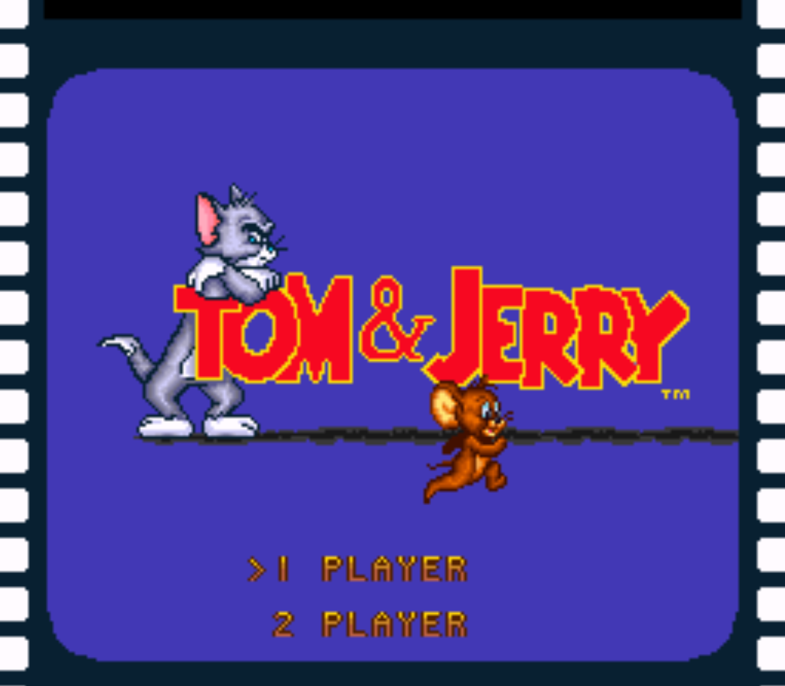 Tom and Jerry Title Screen