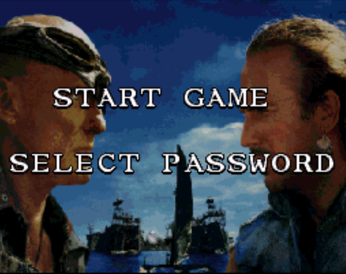 Waterworld Title Screen