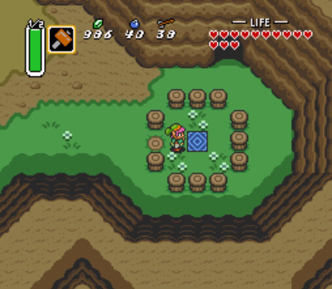 Dark World Portals Zelda: A Link To The Past