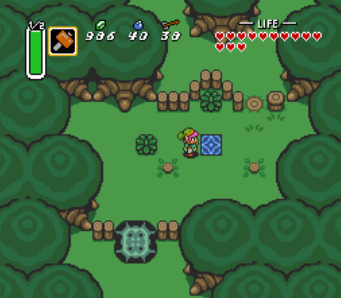 Dark World Portals Zelda A Link To The Past