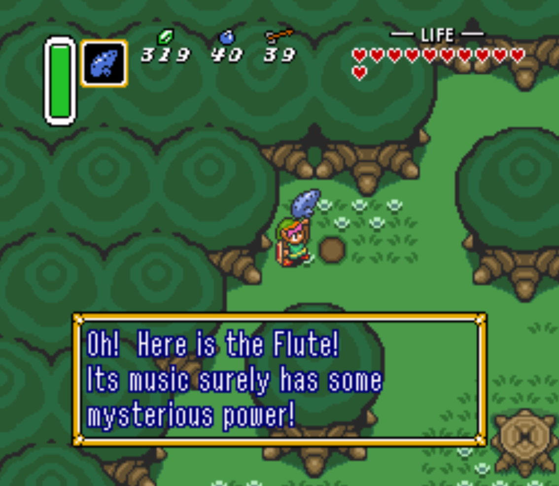 Buried Flute Location